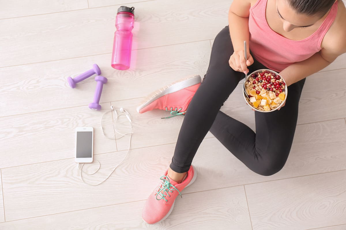 Muesli au soja, le parfait accord pour le petit déjeuner des sportifs